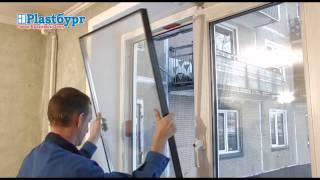 Plastburg. Замена стеклопакета за 4 минуты(Как самостоятельно заменить стеклопакет., 2012-01-31T15:54:52.000Z)