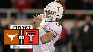 No. 19 Texas vs. Texas Tech Football Highlights (2018) | Stadium