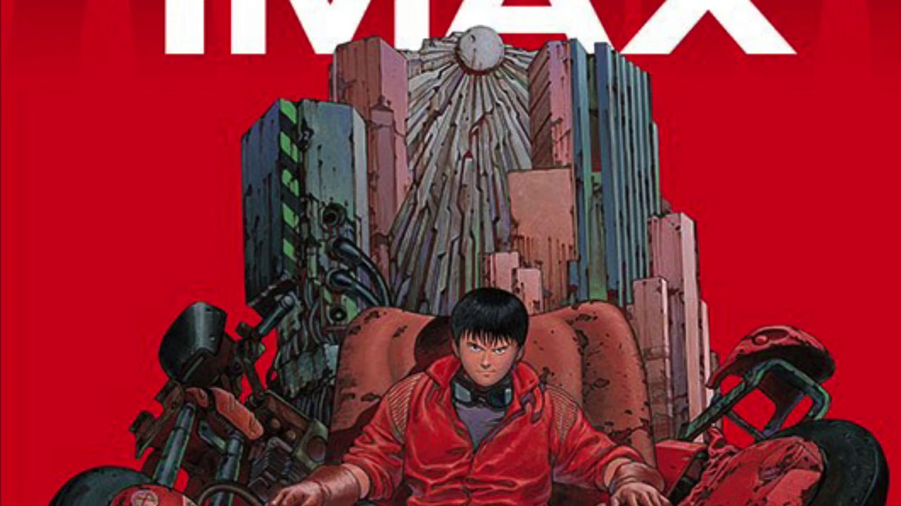 Akira Imax Re Release In Japan Poster Youtube