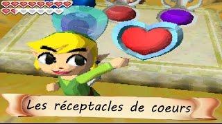 #Zelda Phantom Hourglass : Les Quarts de Cœurs