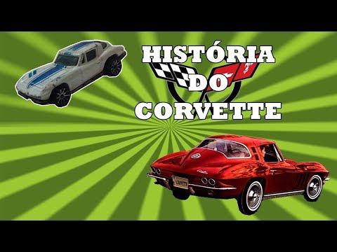 História do corvette do C1 ao C3