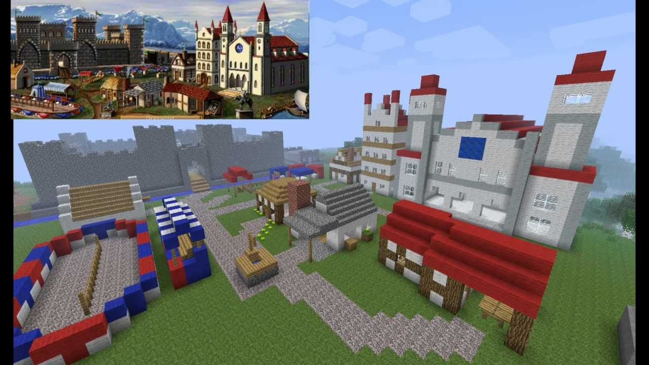Minecraft heroes of might and magic 2 knight castle map with minecraft heroes of might and magic 2 knight castle map with download youtube gumiabroncs Image collections