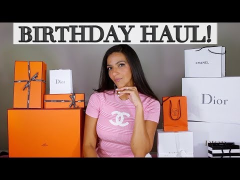 What I Got For My Birthday! Hermes, Dior Jewelry, Chanel, Coach | Ericas Girly World thumbnail