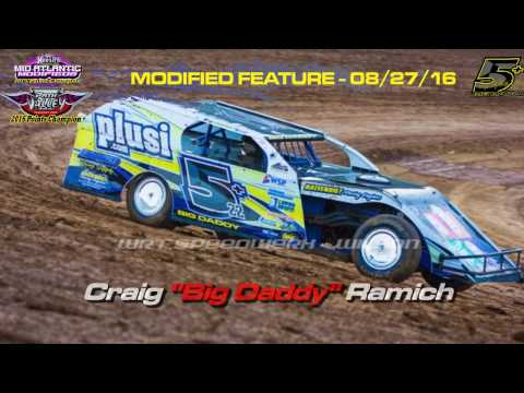 Path Valley Speedway - Feature In-Car Front and Bumper - August 23, 2017