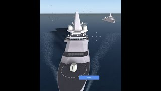 Roblox-Royal navy-vs Subservies-vs-Land-cannon! Who will win?