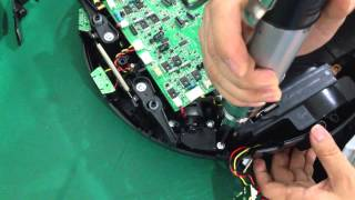 Lilin Robot Vacuum Cleaner LL-D6601 Side Brush Motors Assembly Replacing Demo Video