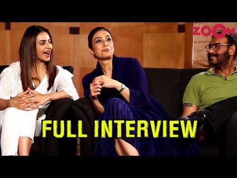 Ajay, Tabu & Rakul Preet on De De Pyaar De | Paparazzi moments | Kissing scenes & more | Exclusive Mp3