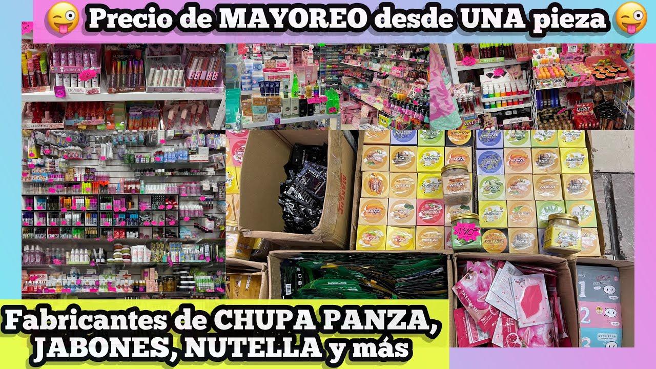 PRECIO DE MAYOREO DESDE UNA PIEZA EN TODA LA TIENDA   FABRICANTES CHUPAPANZA, MÁSCARAS, JABONES CDMX