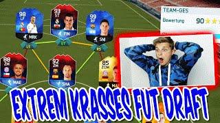 FIFA 17 SQUAD BUILDING CHALLENGES FUT DRAFT!! EXTREM KRASSES TEAM - FIFA 16 ULTIMATE TEAM (DEUTSCH)