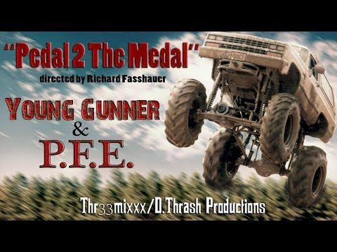 Young Gunner & P.F.E. - Pedal 2 The Metal (OFFICIAL MUSIC VIDEO)