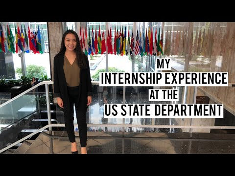 My Internship Experience At The US State Department