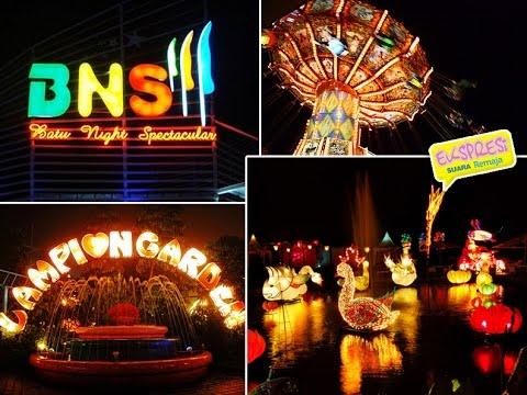 Wisata Malam Terbaik di Malang - Batu Night Spectaculer (BNS)
