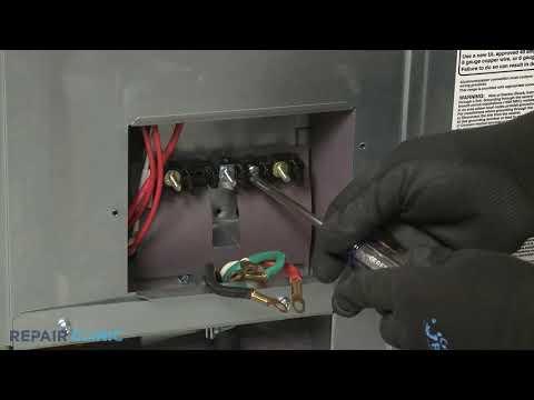 Terminal Block - Kitchenaid Double Oven Electric Range #KFED500ESS02