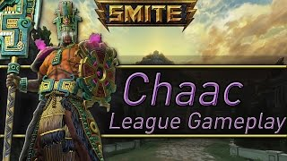 "Smite League Chaac Gameplay ""Still doe Diamond Chaac Op"""