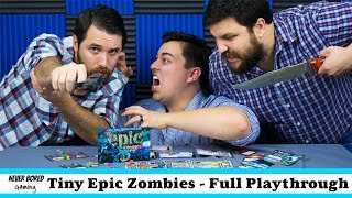 Tiny Epic Zombies - Full Playthrough (Team vs One)