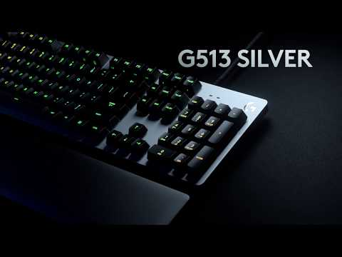 Introducing G513 RGB Mechanical Gaming Keyboard- Play Advanced
