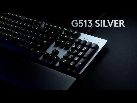 Introducing G513 RGB Mechanical Gaming Keyboard- Play Advanced