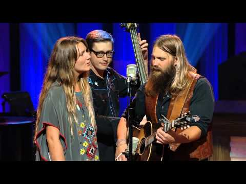 Chris Stapleton on the Grand Ole Opry
