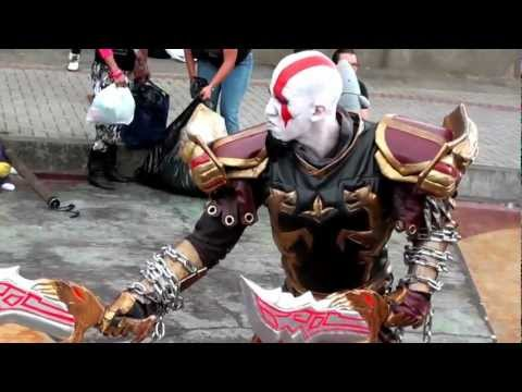 [Cosparty 2012] God Of War - Kratos Cosplay