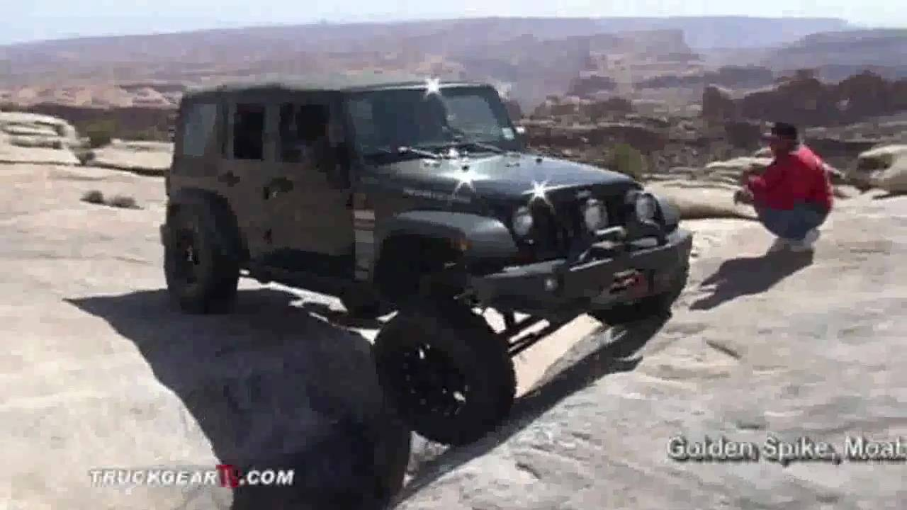 Velocity Off Road Jeep JK Leveling Kit Testing At MOAB 2010