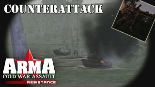 """ARMA: Resistance (Operation Flashpoint: Resistance) Mission 11 """"Counterattack"""""""