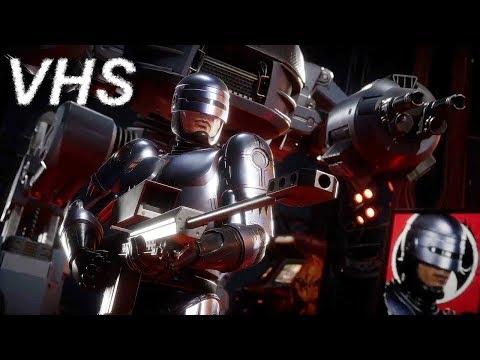 Mortal Kombat 11 - Трейлер Робокопа, Шивы и Фуджина на русском - VHSник