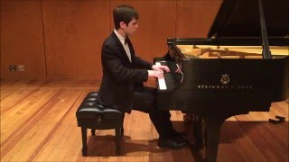 Aaron Kurz - Mozart: Sonata in B-flat major, K. 281 (I. Allegro)