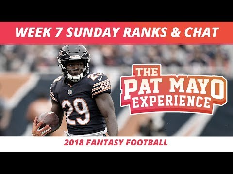 2018 Fantasy Football Rankings Update Live —Week 7 DraftKings Picks, Injuries & Viewer Chat