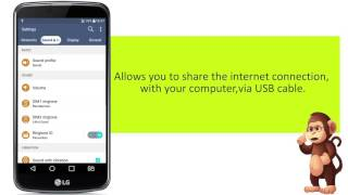 How To Use USB Tethering On LG K10 Mobile