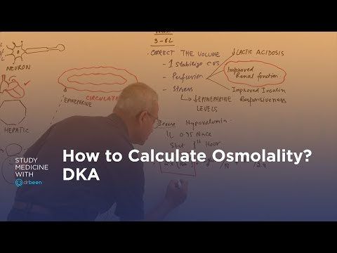 How To Calculate Osmolality In A Diabetic Ketoacidosis (DKA) Patient?