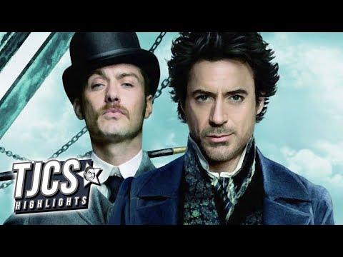 Robert Downey Jr. Teases He's Preparing For Sherlock 3