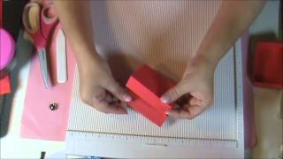 How To Make A Christmas Easel Card
