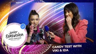 Candy Test with Viki Gabor & Ida Nowakowska-Herndon - Part 2 - Junior Eurovision 2020