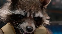 Guardians Of The Galaxy 1 - Rocket Best Moments
