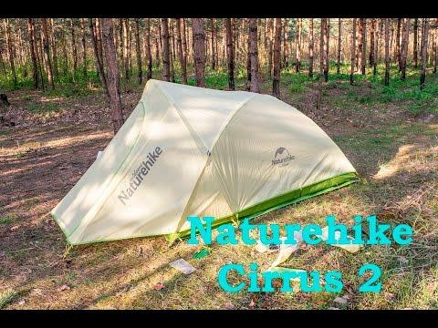Обзор ультра легкой двухместной палатки Naturehike Cirrus 2