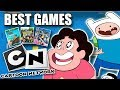 The Best Cartoon Network Games Ever | Steven Universe, Adventure Time, Ben 10 & More!
