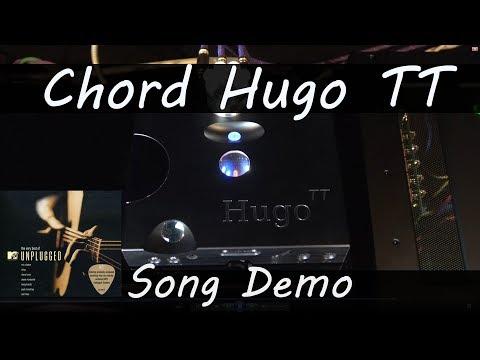 Hugo TT Eric Clapton MTV Unplugged Live Recorded Chord Electronics Hugo TT Dac Demo Review