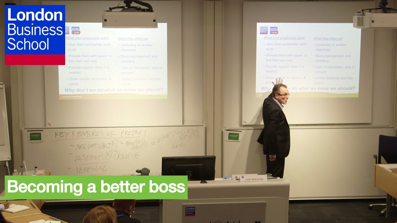 A Day of Executive Education - Julian Birkinshaw, Becoming a better ...