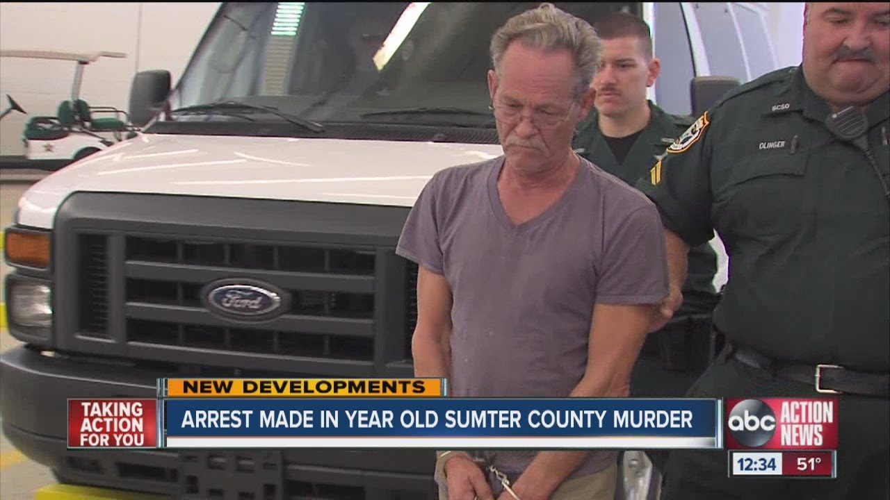 Suspect arrested in Sumter County murder mystery