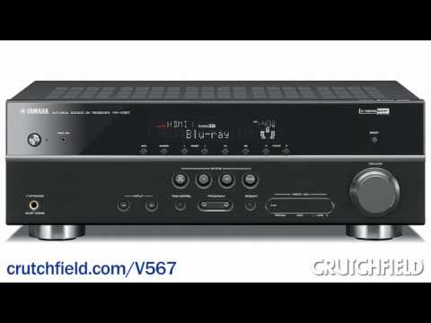 Yamaha RX-V567 Home Theater Receiver Overview | Crutchfield