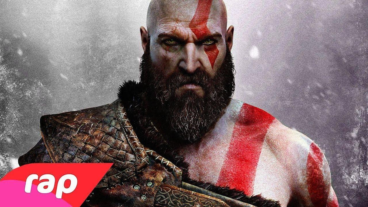 Rap do Kratos (God of War) - EU SOU UM DEUS | NERD HITS