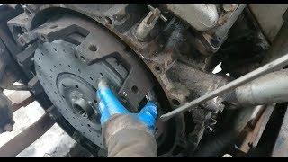 Снимаю сонькой установку сцепление, кпп и ремонт кулисы Камаз!