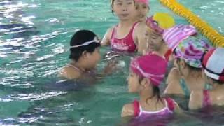 2010.06.12台北市文山區景美國小幼童軍游泳課