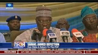 Senate President Saraki, Gov Ahmed Dump APC