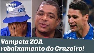 """Vampeta IRONIZA Cruzeiro após rebaixamento: """"deixa eles se divertirem agora!"""""""