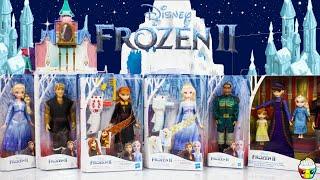 Disney FROZEN 2 New Dolls Elsa + Anna Sister Style Hair Braiding, Parents, Royal Family