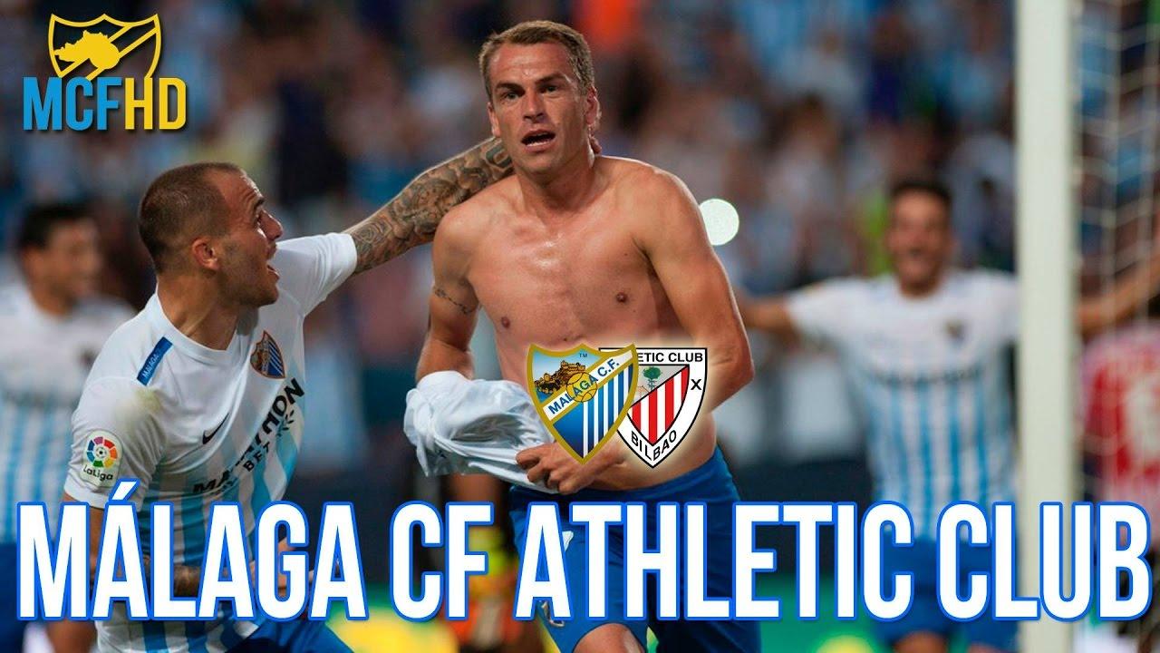 Málaga CF vs Athletic de Bilbao 2016 - YouTube