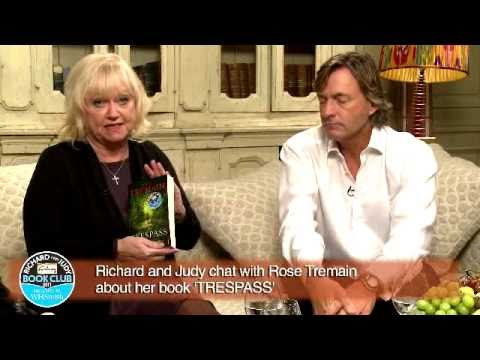 Rose Tremain Trespass With Richard And Judy Youtube border=