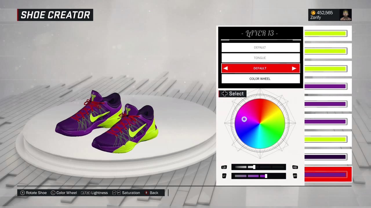 NBA 2K17 Shoe Creator - Nike Kobe 7 \