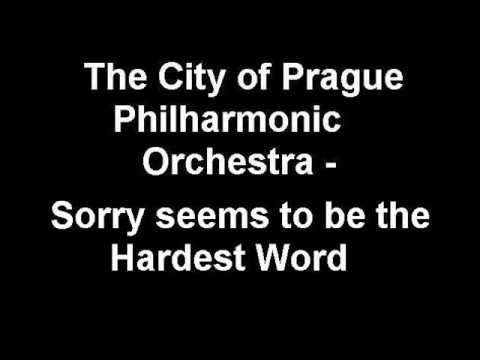 The City of Prague Philharmonic Orchestra - Sorry seems to be the Hardest Word